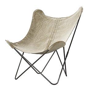 3D Restoration Hardware Tye Butterfly armchair model