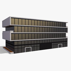 3D Commercial Building 011