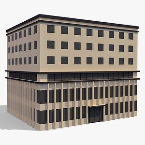 Commercial Building 001 3D model