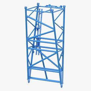 crane f intermediate pivot 3D model