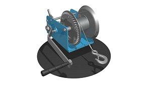 3D WINCH CAR for SUVs and ATV 4 model