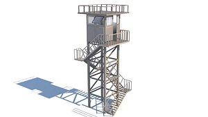 Army Post 3D model
