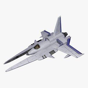 3D spaceship ship space