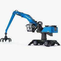Material Handler Terex Fuchs MHL360 Pylon-mounted machine