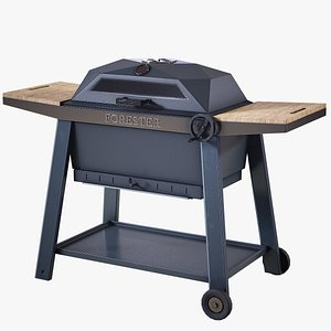 3D model grill forester