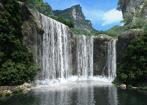 waterfall creek forest model