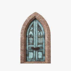 3D Exterior Door V9