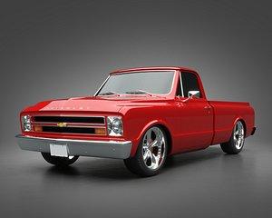 3D model 1968 Chevrolet Truck