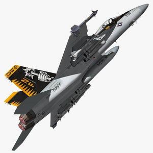 F18 Super Hornet Royal Maces 3D model