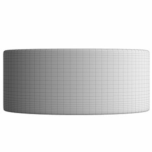 3D rounded rectangle shape