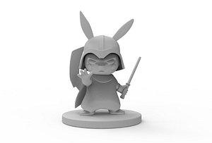 darth vader pikachu stl 3D