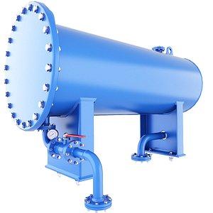 3D vessel pressure gas