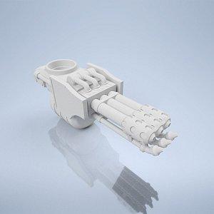 3D thrower robot