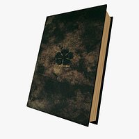 Asta Grimoire 3d model - Black Clover