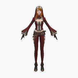 3D girl princess