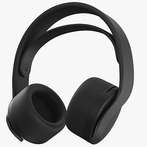 3D model Black Headset 2