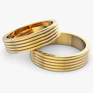 stacking ring wire 3D