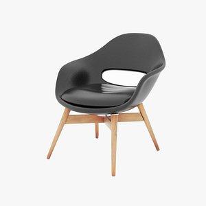3D Modern arm chair