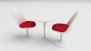 TULIP CHAIR TABLE model