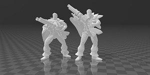3D model Graves