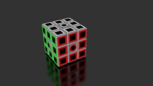 Rubik 3x3x3 3D model