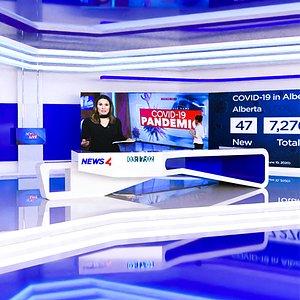 studio news tv 3D