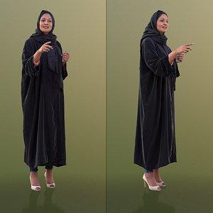 3D woman schaila talking model
