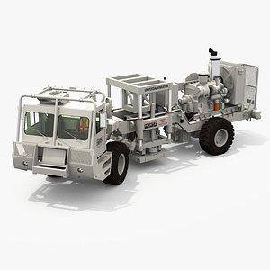 Vibrator Truck 001 3D
