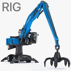 3D fuchs mhl360 rigged pylon-mounted