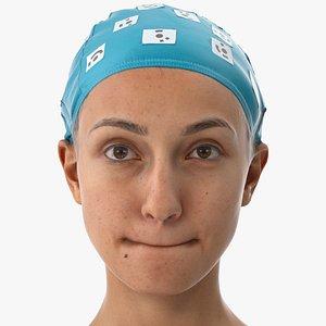 joy human head lip 3D model