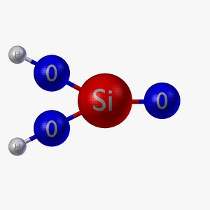 silicic acid 3D