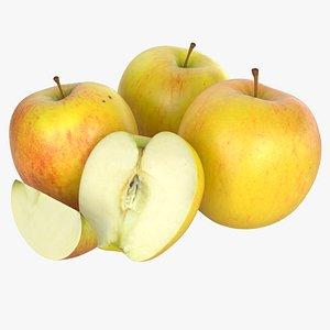 Apple Set 01 3D model