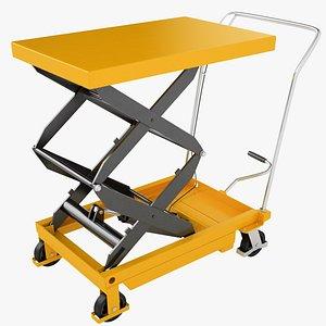 Mobile Hydraulic Trolley 04 model