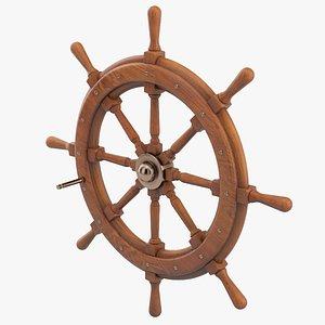 3D model Ship Wheel