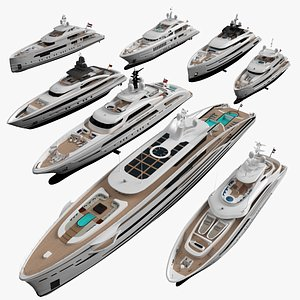 yacht ship vessel model
