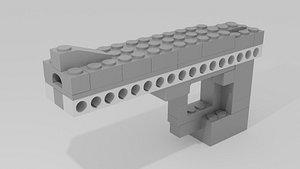 lego desert eagle model