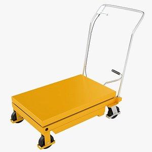 Mobile Hydraulic Trolley 01 3D