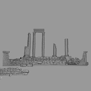 roman antiquities 3D model