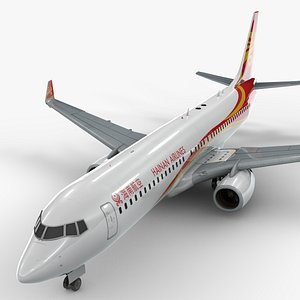 boeing 737-8 hainan airlines 3D model