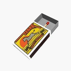 matches matchbox 3D model