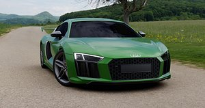 Sport car 3D model