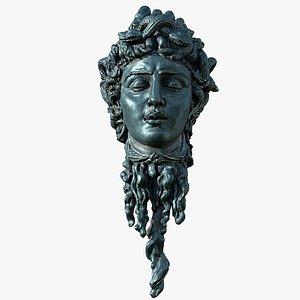 Medusa Head Bust 3D model