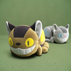 3D kids catbus toy model