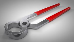 3D pincers pliers tool