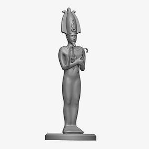 3D Egyptian Lord Osiris