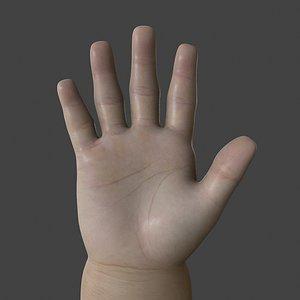 baby hand model