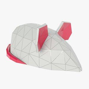 Mouse polygonal model