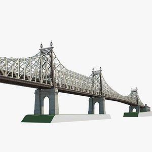 Queensboro Bridge 3D model