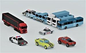 3D vehicle pack