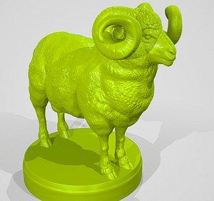 3D ram print